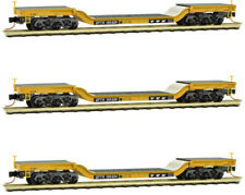 Micro-Trains MTL N-Scale TTX Heavyweight Depressed-Center Flat Car 3-Pack