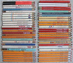 56 Vtg Unused Advertising Pencils: Stegmaier's Beer, Arm & Hammer, NAPA, Gulf