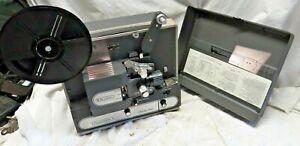"Vintage BELL & HOWELL FILMOSONIC ""Director Series"" Projector 1734B Film & Sound!"