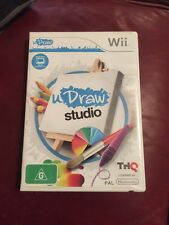 U Draw Studio Wii WITH INSTRUCTION BOOKLET COMPLETE