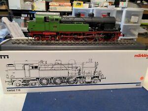 Märklin 5524 Digital Steam Locomotive Series T18 Württemberg Gauge 1 Boxed, disp