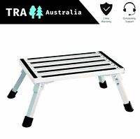 Portable Folding Aluminium Step Caravan Accessories Ladder Stool Camper