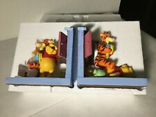 Disney Winnie The Pooh Tigger Bookends Heavy Michel & Co. 100 Acre Collection
