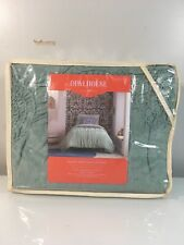 Opalhouse Ruched Jersey Duvet Cover Set Twin Xl/Twin Green