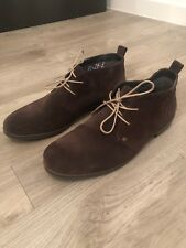 Tommy Hilfiger Brown Suede Shoes, Men UK 9, Good Condition