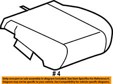 FORD OEM 05-07 F-250 Super Duty Front Seat-Outer Cushion Right 1C3Z28632A22AA