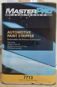 1 GALLON MASTERPRO REFINISHING 7713 FAST ACTING AUTOMOTIVE PAINT STRIPPER