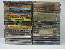 Wholesale Lot Of 40 Assorted *** Action & Adventure *** DVDs & DVDs Movies