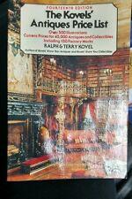 The Kovels' Antiques Price List Ralph & Terry Kovel