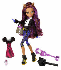 Monster High Clawdeen Wolf draculauras Sweet 1600 poupée de collection rare w9191