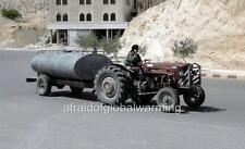 Photo. 2000s. Syria.  Massey Ferguson Tractor