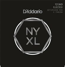 D'Addario NYXL1260 Nickel Wound Extra Heavy 12-60 Guitar Strings