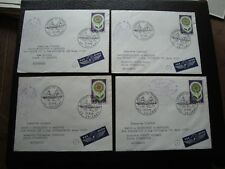 FRANCE - 4 enveloppes 27/3/1965 (orleans) (B15) french