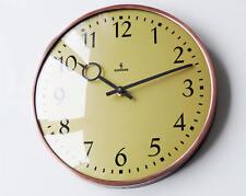 Orig German SIEMENS & HALSKE Industrial Clock midcentury Modernist Bauhaus large