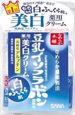 JAPAN SANA Nameraka Honpo Soy Whitening Milk Isoflavone Moisturizing Cream 50g