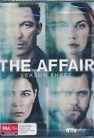 The Affair Season Three 3 Third DVD NEW Region 4 Dominic West