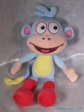 "2012 Ty Beanie Buddies Buddy Plush 14"" Dora The Explorer Boots Monkey Sewn Eyes"