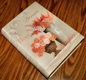 "8x11"" Keepsake Box By Kathryn White DREAM HOPE INSPIRE Wedding Treasures NEW"
