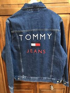 Tommy Hilfiger Tommy Jeans Capsule Collection Lined Denim Jacket Men XL NWT New