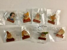Disney Coca Cola Snow White And The Seven Dwarfs Collectable Pins Sealed
