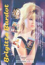 Brigitte Bardot  Collection 1. Français. Sous-titres anglais. 4 films