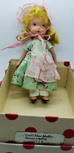 Nancy Ann Storybook Doll Little Miss Muffet  #118 Vintage And Rare