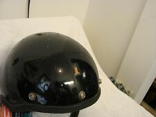 1971- 79  HARLEY-DAVIDSON MOTOR CYCLE HELMET RED-WHITE - BLUE #1 IN FRONT