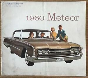 FORD METEOR LF Canadian Sales Brochure 1960 #20J1C-19-085 MONTCALM Rideau 500++