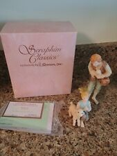 Seraphim Classics by Roman - Shepherds - 2 piece set - Nativity - #78125 New