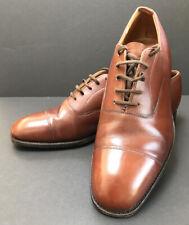 Church's Para hombres Zapatos Oxford personalizado de grado Oscuro Bronceado UK Size 7 (E)