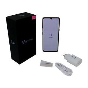 FAIR LG V60 ThinQ 5G LM-V600AM 128GB 6.8 in 8GB RAM Smartphone Read description