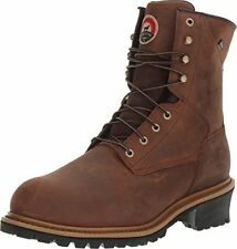 "9 M RED WING IRISH SETTER MESABI 83236 women's 8"" Safety Toe Work Logger Boots"
