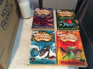 HOW TO TRAIN YOUR DRAGON CRESSIDA COWELL 4 BOOKS # 3