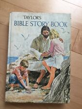 Vintage Children's Bible Stories Book ~ Taylor's Bible Story ~ Tyndale  ~ Rare