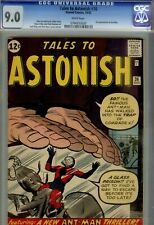 Tales to Astonish  #36 CGC 9.0- HIGRADE EARLY ANTMAN- MARVEL-1962