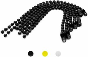 6Pcs 6 Inch Ball Beads Chain Dog Tag Chain, Ball Chain Keychains with Connector