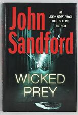 WICKED PREY BY JOHN SANDFORD  NEW YORK TIMES BESTSELLING AUTHOR, FIRST EDITION