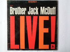 Brother Jack McDuff, LIVE lp record