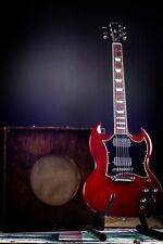 More details for beautiful 2019 gibson usa sg standard heritage cherry finish electric guitar