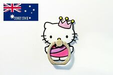 Hello Kitty PVC Ring Hook Mobile Phone Car Mount Holder for Any Smartphone