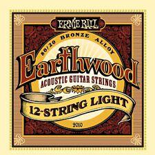 Ernie Ball P02010 Earthwood 12-string Light .009 - .046 Acoustic 80/20 Bronze