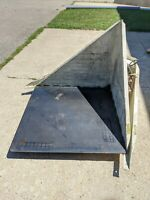 """IMS 116291 Floor Tipster 120V, 1 Phase, 44"""" x 44"""", 36"""" Tall Gaylord Tipper"""