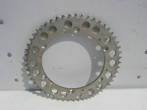 "Husqvarna 53 Tooth Aluminum Rear Sprocket PBI 3355 FOR 17"" RIM HUSKY AHRMA WR CR"