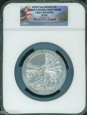 2010-P GRAND CANYON NP ATB  5 Oz SILVER NGC SP69 ER SCARCE LIGHT SATIN FINISH ER