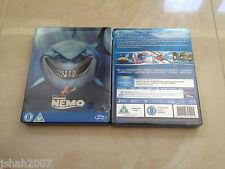 Alla ricerca di Nemo Zavvi esclusivo STEELBOOK BLU RAY ** NUOVO E SIGILLATO ** RARE & fuori catalogo