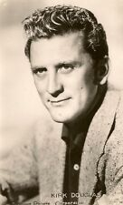 CARTE POSTALE PHOTO CELEBRITE ACTEUR KIRK DOUGLAS