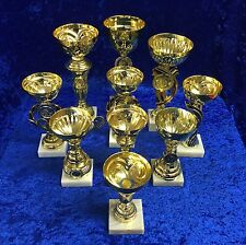 10 Gold Cup Trophy Awards Dance, Martial Arts, Equestrian, Sport FREE engraving
