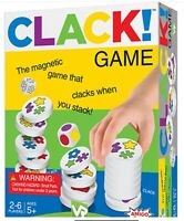 Clack! Magnetic  Stacking Game, Dobble-esk 2-6players 5+Age NEW & SEALED Amigo