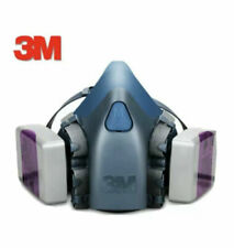 3M 7502 Respirator Medium With 7093 Filters 7501 7503 6200 6300 USPS Priority