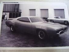 1971 PLYMOUTH SATELLITE CONCEPT DESIGN CAR  11 X 17  PHOTO  PICTURE
